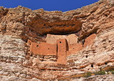 Montezuma Castle Royalty Free Stock Photos