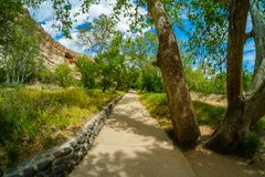 Montezuma Castle Dwelling Stock Photography