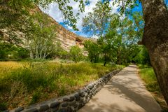 Montezuma Castle dwelling Stock Photography