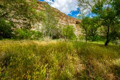 Montezuma Castle dwelling Stock Photos