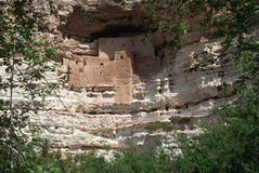 Montezuma castle Indian Ruins, AZ. Montezuma castle Pueblo Village Indian Ruins, Arizona royalty free stock photos