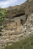 Montezuma Castle National Monument. Ancient Indian dwelling ruins near Camp Verde, Arizona, USA. The dwellings were built and used by the Sinagua people, a pre stock photo