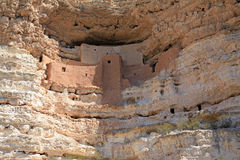 Montezuma Castle National Monument Royalty Free Stock Photos