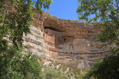 Montezuma Castle National Monument Royalty Free Stock Photography