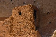 Montezuma's Castle. A doorway to Montezuma's Castle in Arizona stock images