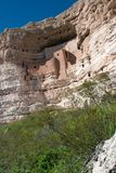 Montezuma's Castle near Sedona, AZ Royalty Free Stock Images