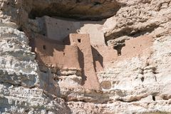 Montezuma's Castle near Sedona, AZ Royalty Free Stock Photos
