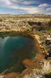 Montezuma's Well. Spring at Montezuma's Well National Monument, Camp Verde, Arizona royalty free stock photo