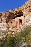 Montezuma Schloss Arizona Lizenzfreies Stockbild