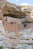Montezuma-Schloss-Nationaldenkmal, Wohnungen gebaut von den Sinagua-Leuten Stockfoto
