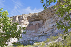 Montezuma Schloss-nationales Denkmal Lizenzfreie Stockfotografie