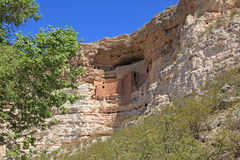 Montezuma Schloss-nationales Denkmal Stockbild