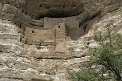 Montezuma Schloss-nationales Denkmal lizenzfreie stockbilder