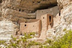 Montezuma slott Arkivfoto