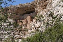 Montezuma slott Fotografering för Bildbyråer