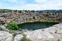 Montezuma Well Arizona Stock Image