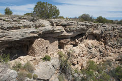 Montezuma Well cliff dwelling Stock Image