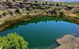 Montezuma Well Krajowy zabytek obraz stock