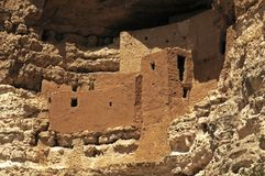 Montezumas Schloss Stockfotografie