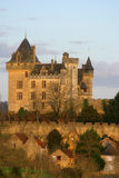 Montfort Castle in Dordogne France Royalty Free Stock Image