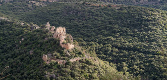 Montfort Castle in Upper Galilee, Israel Royalty Free Stock Image