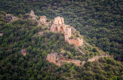 Montfort Castle in Upper Galilee, Israel Royalty Free Stock Images