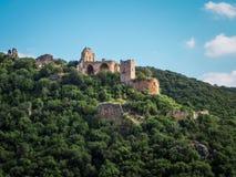 Montfort Castle in Upper Galilee, Israel Royalty Free Stock Photos