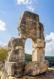 Montfort Castle in Upper Galilee, Israel Stock Images