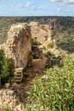 Montfort Castle in Upper Galilee, Israel Stock Photos