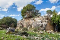 Montfort Castle in Upper Galilee, Israel Royalty Free Stock Photo