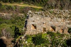 Montfort Castle in Upper Galilee, Israel Royalty Free Stock Images