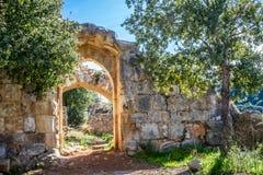 Montfort Castle in Upper Galilee, Israel Stock Image