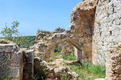 Montfort kasztelu ruiny Obraz Stock