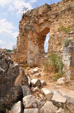 Montfort ruins. Royalty Free Stock Photos