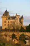 Montfort Schloss in Dordogne Frankreich lizenzfreies stockbild