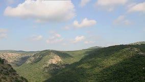 Montfort (Shtarkenberg) é um castelo arruinado do cruzado israel vídeos de arquivo