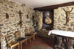 Montfort-sur-Meu, France, September 9, 2016: Place associated wi Stock Photos