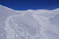 Montgenevre Ski Resort Royalty Free Stock Photos