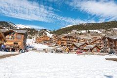 Montgenevre ski resort in the Hautes Alpes, France Stock Photography