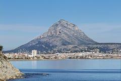 Montgo. Mountain near of Javea. Royalty Free Stock Image