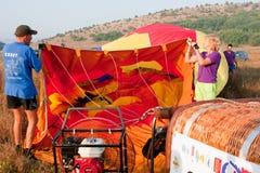 montgolfeerie international празднества воздушного шара Стоковые Изображения RF