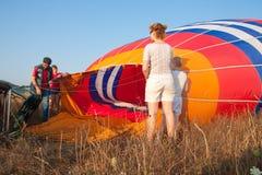 montgolfeerie international празднества воздушного шара Стоковые Фотографии RF