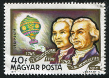 Montgolfier Brothers Stock Photo