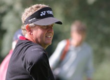 Montgomerie, Volvo Masters, Valderrama, 2005 Royalty Free Stock Photo