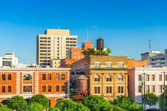Montgomery Alabama Buildings. Montgomery, Alabama, USA downtown buildings Royalty Free Stock Images