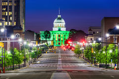Montgomery Alabama Downtown Royalty Free Stock Photography