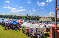 Montgomery Alabama Dragon Boat Festival 2016 Royalty Free Stock Photography