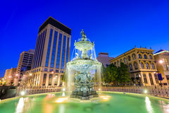 Montgomery Alabama Fountain Photo libre de droits
