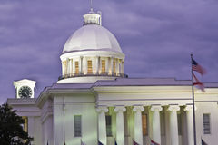Montgomery, Alabama - State Capitol Stock Photo