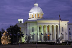 Montgomery, Alabama - Zustand-Kapitol Stockbilder
